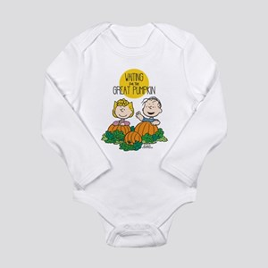 The Great Pumpkin Is C Long Sleeve Infant Bodysuit