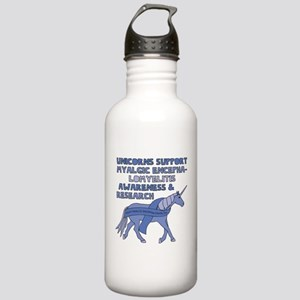 Unicorns Support Myalg Stainless Water Bottle 1.0L