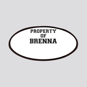 Property of BRENNA Patch