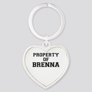 Property of BRENNA Keychains