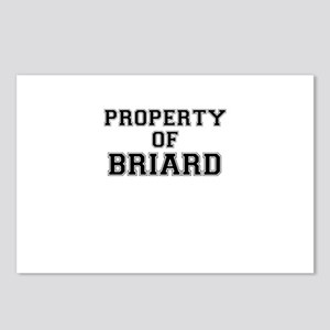 Property of BRIARD Postcards (Package of 8)