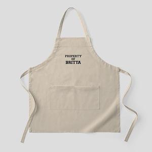 Property of BRITTA Apron