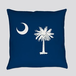 South Carolina Flag Everyday Pillow