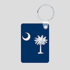 South Carolina Flag Keychains
