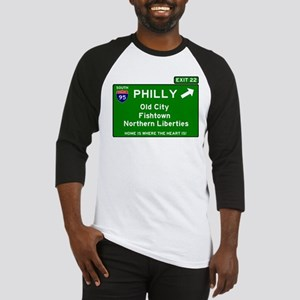 I95 INTERSTATE EXIT SIGN - PHILADE Baseball Jersey