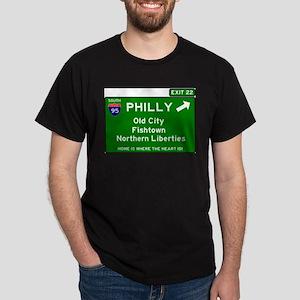 I95 INTERSTATE EXIT SIGN - PHILADELPHIA - T-Shirt