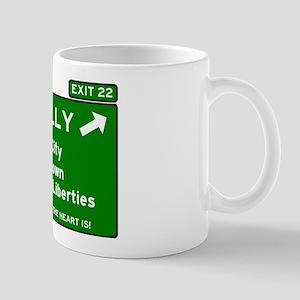 I95 INTERSTATE EXIT SIGN - PHILADELPHIA - EXI Mugs
