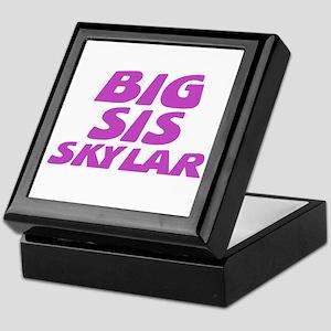 Big Sis Skylar Keepsake Box
