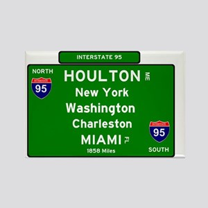 INTERSTATE I95 SIGN - MAINE - NEW YORK - S Magnets