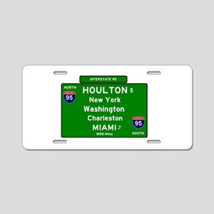 INTERSTATE I95 SIGN - MAINE Aluminum License Plate
