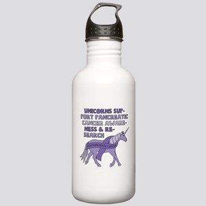 Unicorns Support Pancr Stainless Water Bottle 1.0L
