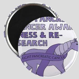 Unicorns Support Pancreatic Cancer Awarene Magnets