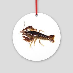 Crayfish 1 Round Ornament