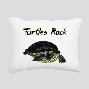turtles_rock Rectangular Canvas Pillow