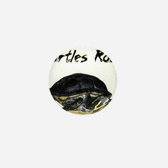 turtles_rock.jpg Mini Button