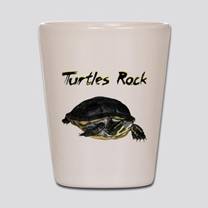 turtles_rock Shot Glass
