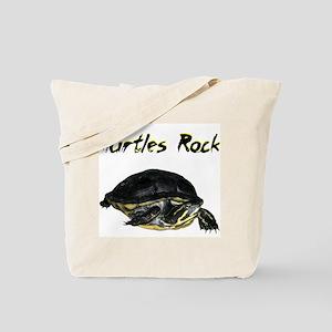 turtles_rock Tote Bag