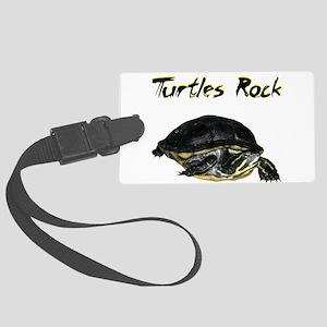 turtles_rock Luggage Tag