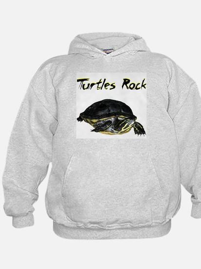 turtles_rock.jpg Hoodie