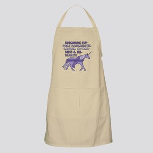 Unicorns Support Pancreatic Cancer Awareness Apron
