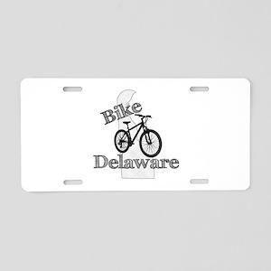 Bike Delaware Aluminum License Plate