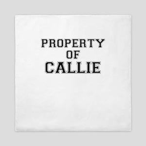 Property of CALLIE Queen Duvet