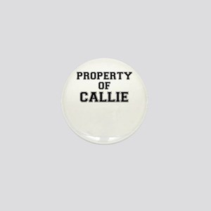 Property of CALLIE Mini Button
