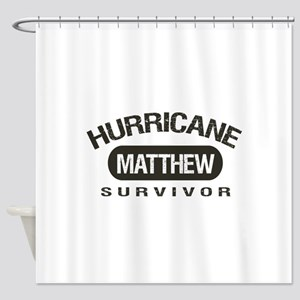 Hurricane Matthew Survivor Shower Curtain