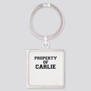 Property of CARLIE Keychains
