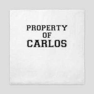 Property of CARLOS Queen Duvet