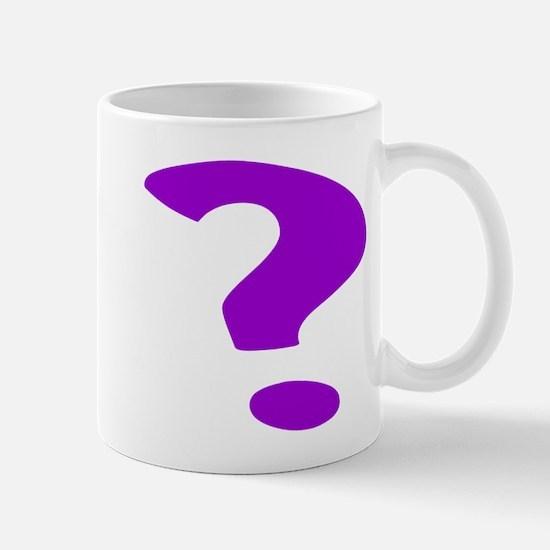 Purple Question Mark Mugs