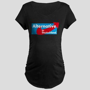 Alternative fur Deutschland Maternity Dark T-Shirt