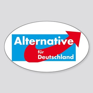Alternative fur Deutschland Sticker (Oval)