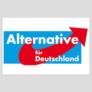 Alternative fur Deutschland Large Poster