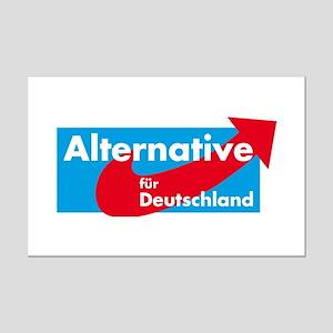 Alternative fur Deutschland Mini Poster Print