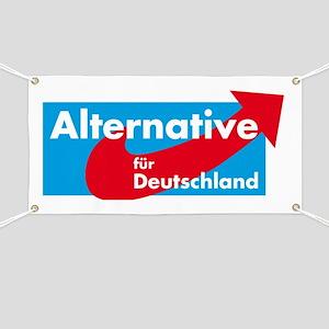 Alternative fur Deutschland Banner