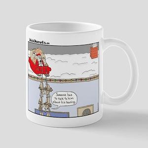 Santa-texting Mugs