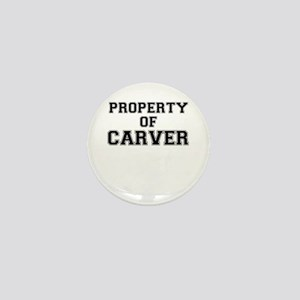 Property of CARVER Mini Button