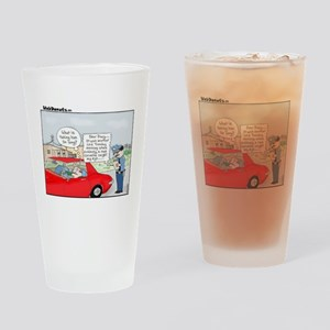 Ticket-Diary Drinking Glass