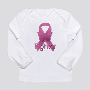 Breast Cancer Pink Ribbon Long Sleeve T-Shirt