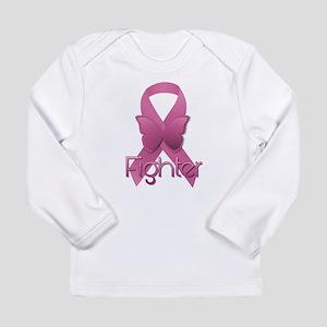 Breast Cancer Pink Ribbon Long Sleeve T-Shirt