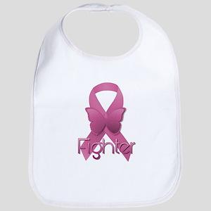 Breast Cancer Pink Ribbon Bib