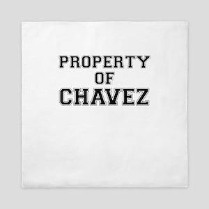 Property of CHAVEZ Queen Duvet