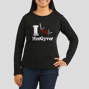 I Love MacGyver Long Sleeve T-Shirt
