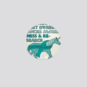 Unicorns Support Ovarian Cancer Awaren Mini Button
