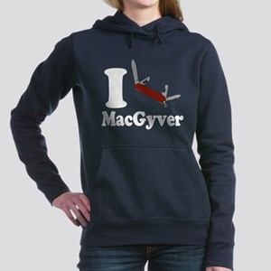 I Love MacGyver Women's Hooded Sweatshirt