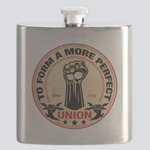 More Perfect Union Flask