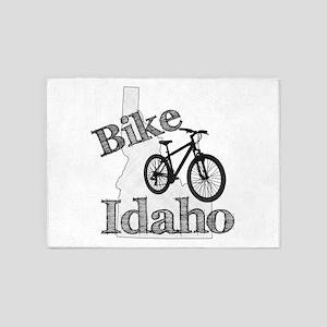 Bike Idaho 5'x7'Area Rug