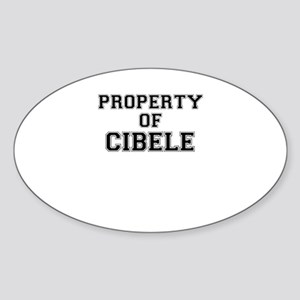 Property of CIBELE Sticker