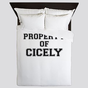 Property of CICELY Queen Duvet